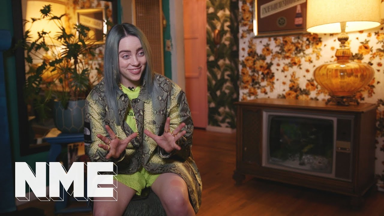 Watch: Billie Eilish reflects on number of firsts in interview with NME