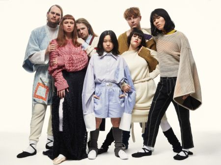 Superorganism group photo