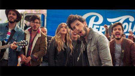 Watch: Morat, Sebastián Yatra & Sofía Reyes come together for 'Joy of Pepsi' commercial