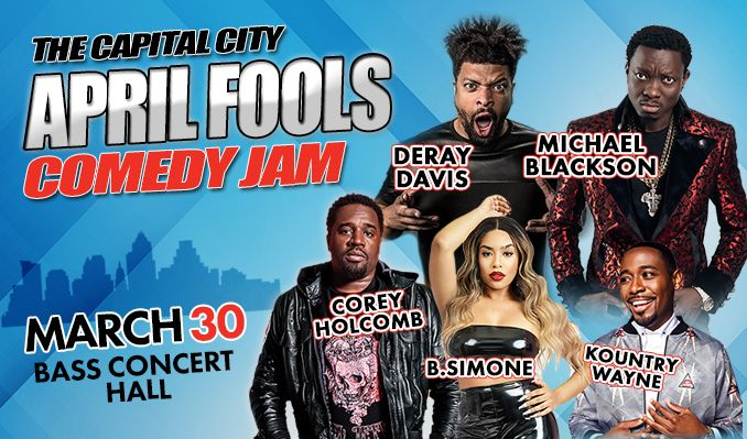 April Fools Comedy Jam tickets at Bass Concert Hall in Austin
