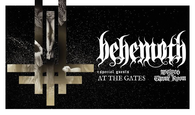 Behemoth / At the Gates tickets at ANNEXET/Stockholm Live in Stockholm