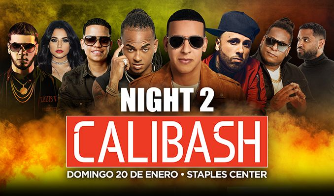 Calibash 2 tickets at STAPLES Center in Los Angeles