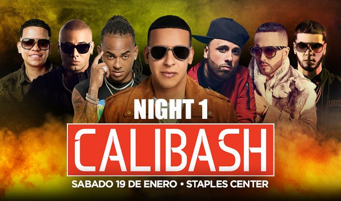 Calibash tickets at STAPLES Center in Los Angeles