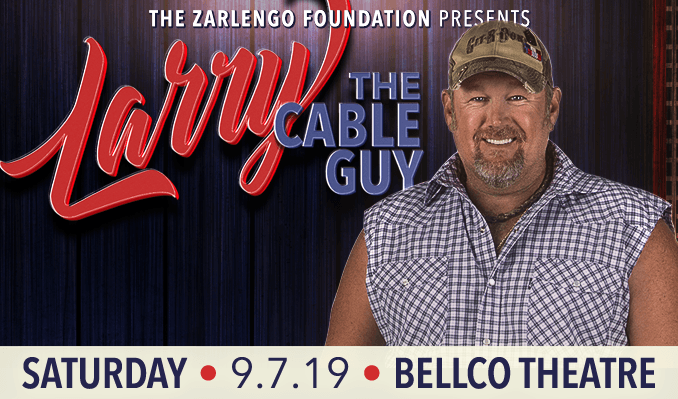 Larry The Cable Guy tickets at Bellco Theatre in Denver