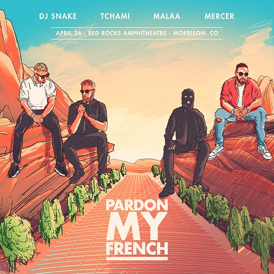 Thumbnail for Pardon My French featuring DJ Snake, Tchami X Malaa, and Mercer
