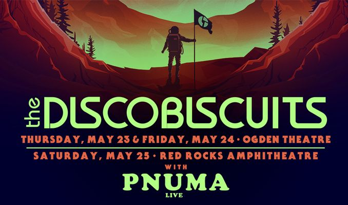 The Disco Biscuits tickets at Red Rocks Amphitheatre in Morrison