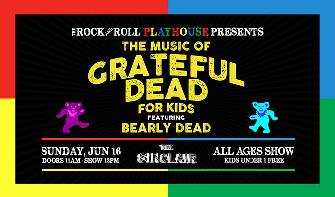 The Music of Grateful Dead for Kids tickets at The Sinclair in Cambridge