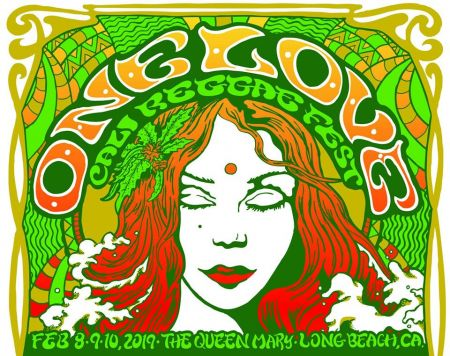 The 2019 One Love Cali Reggae Fest takes place at the Queen Mary Events Park in Long Beach, California, Feb. 8-10.