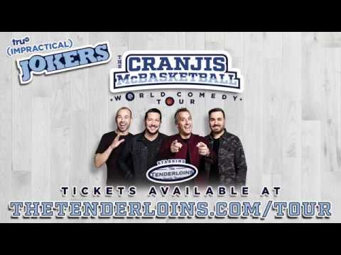truTV's Impractical Jokers announces additional dates for The Cranjis McBasketball World Comedy Tour 2019