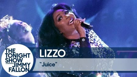 Watch: Lizzo gives captivating performance of 'Juice' on 'Fallon'