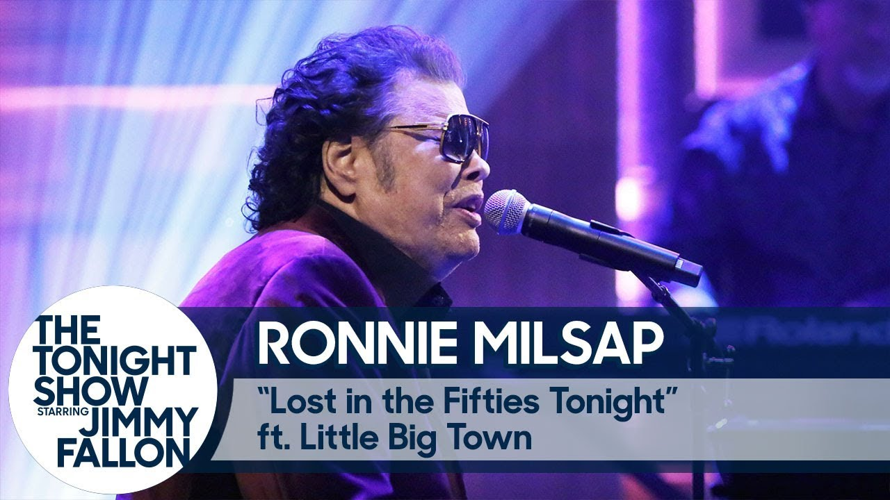 Watch: Ronnie Milsap & Little Big Town join forces on 'Lost in the Fifties Tonight' on 'Fallon'