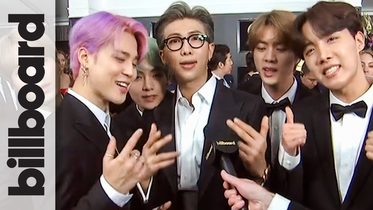 BTS lights up red carpet at the 2019 Grammy Awards