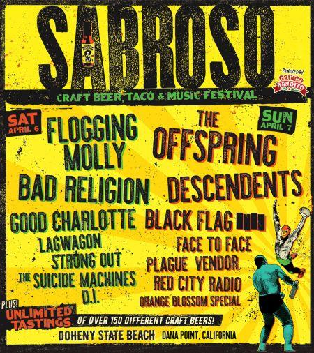 2019 Sabroso Craft Beer, Taco & Music Festival Denver lineup announced