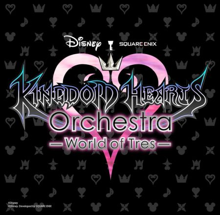 Kingdom Hearts Tour Flyer