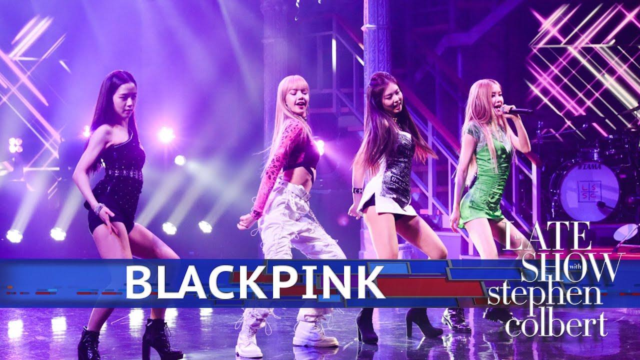 BLACKPINK makes live U.S. TV debut & announces North American tour dates