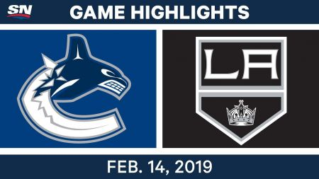 LA Kings best plays from Feb. 14 game against Vancouver Canucks