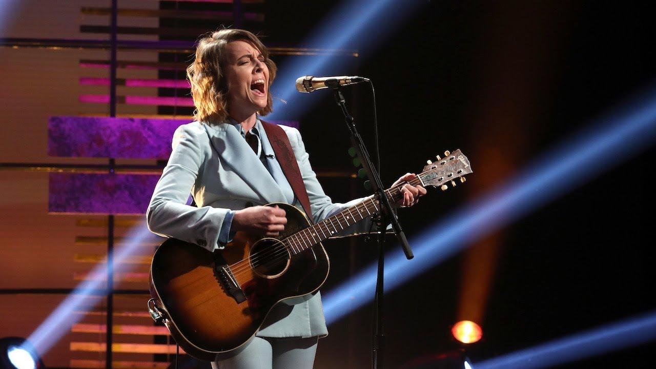 Watch: Brandi Carlile performs stripped back version of 'The Joke' on 'Ellen'