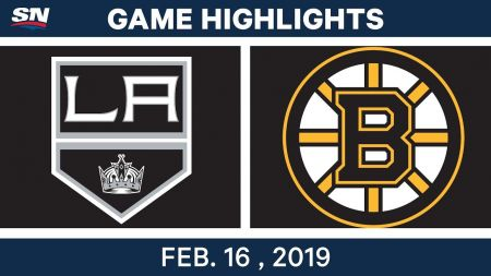 LA Kings best plays from Feb. 16 game against Boston Bruins