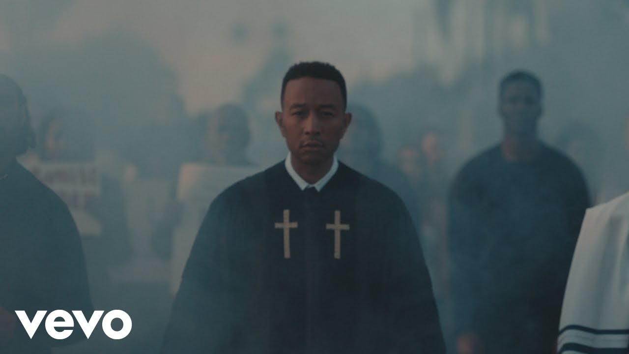 Watch: John Legend drops riveting fundraising video for 'Preach'