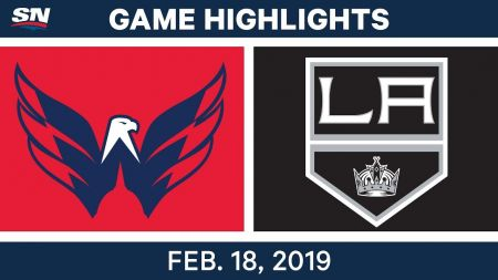 LA Kings best plays from Feb. 18 game against Washington Capitals