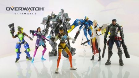 Overwatch gets new line of toys in partnership with Hasbro
