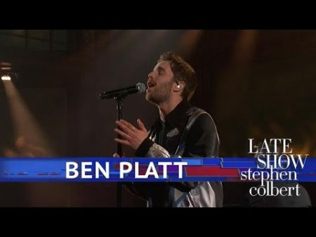Watch: Ben Platt dazzles with 'Bad Habit' TV debut performance on 'Colbert'
