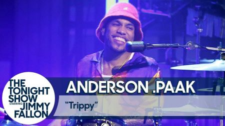 Watch: Anderson .Paak performs 'Trippy' on 'The Tonight Show'