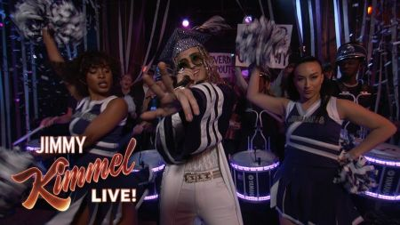 Watch: Lil Pump rocks 'Be Like Me' performance on 'Jimmy Kimmel Live'