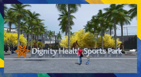 LA Galaxy Legends Plaza to be built at Dignity Health Sports Park