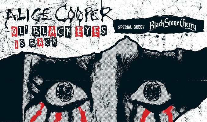 Alice Cooper + special guest Black Stone Cherry tickets at HOVET/Stockholm Live in Stockholm
