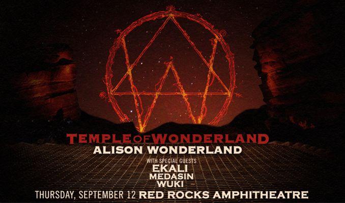 Alison Wonderland Red Rocks Wristbands
