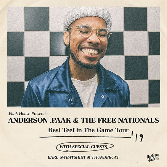 Thumbnail for Anderson .Paak & The Free Nationals