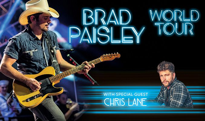 Brad Paisley tickets at HOVET/Stockholm Live in Stockholm