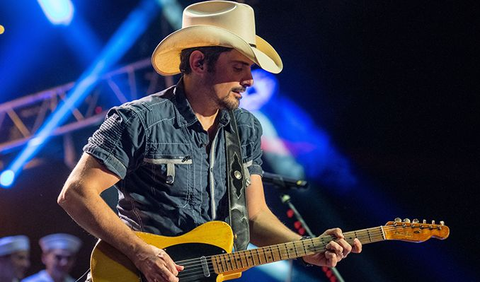 6a232547188 AEG Presents and SJM and Live Nation present. Brad Paisley