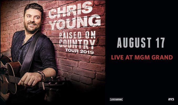 d6e13618cd2e Chris Young tickets in Las Vegas at MGM Grand Garden Arena on Sat ...