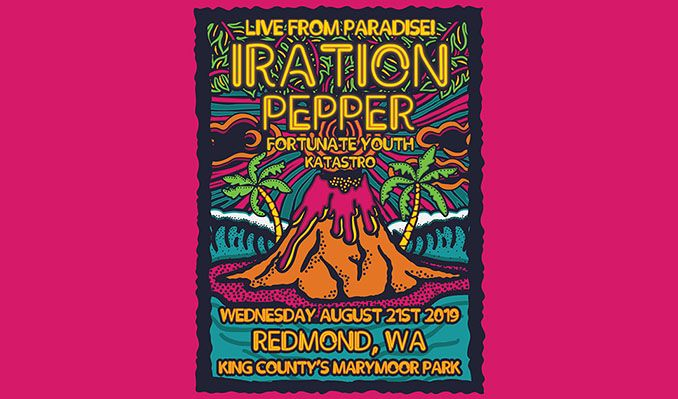 Iration tickets at Marymoor Park in Redmond