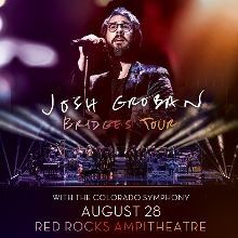 Josh Groban with the Colorado Symphony tickets at Red Rocks Amphitheatre in Morrison