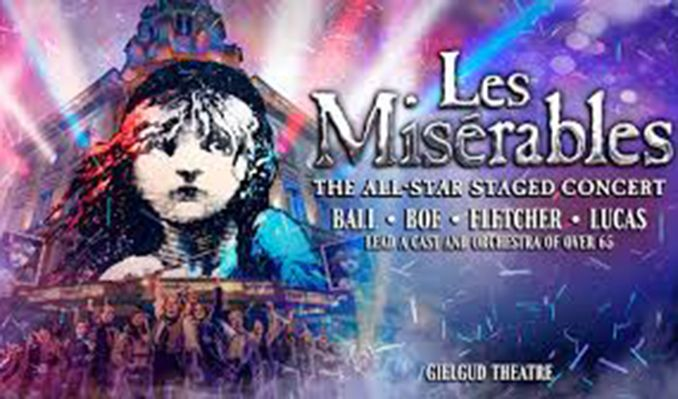 Les Miserables: The All-Star Staged Concert tickets at The Gielgud Theatre, London