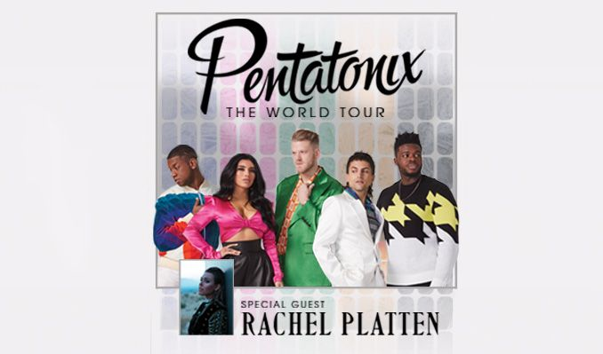 Pentatonix: The World Tour with special guest Rachel Platten tickets at Mandalay Bay Events Center in Las Vegas