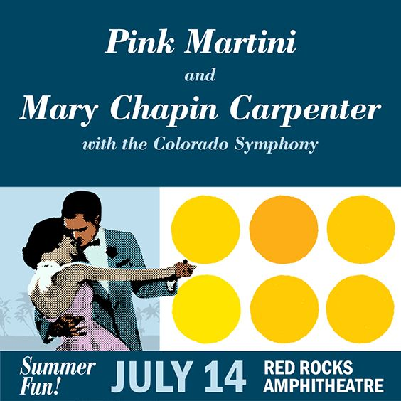 Image for Pink Martini & Mary Chapin Carpenter with the Colorado Symphony