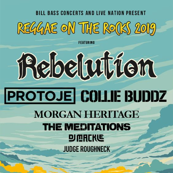 Image for Reggae on the Rocks 2019