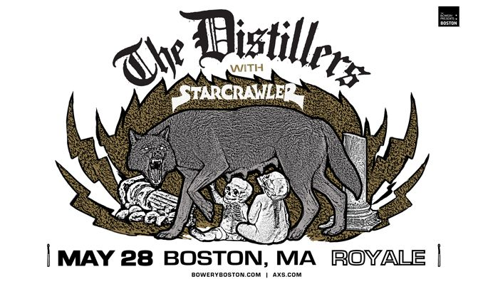 The Distillers tickets at Royale in Boston