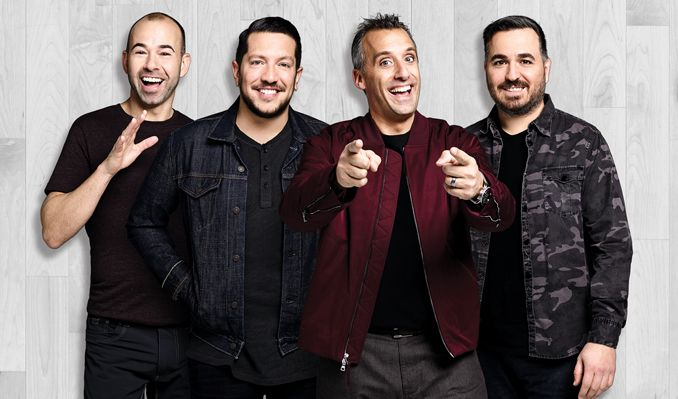 """truTV Impractical Jokers """"The Cranjis McBasketball World Comedy Tour"""" Starring The Tenderloins tickets at 1STBANK Center in Broomfield"""