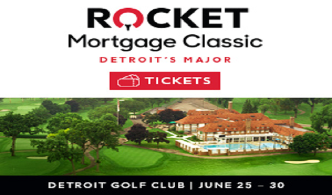 2019 Rocket Mortgage Classic - Good Any One Day Ticket (TUE - SUN) tickets at Detroit Golf Club in Detroit