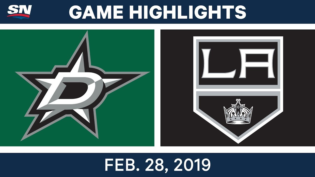 LA Kings best plays from Feb. 28 game against Dallas Stars