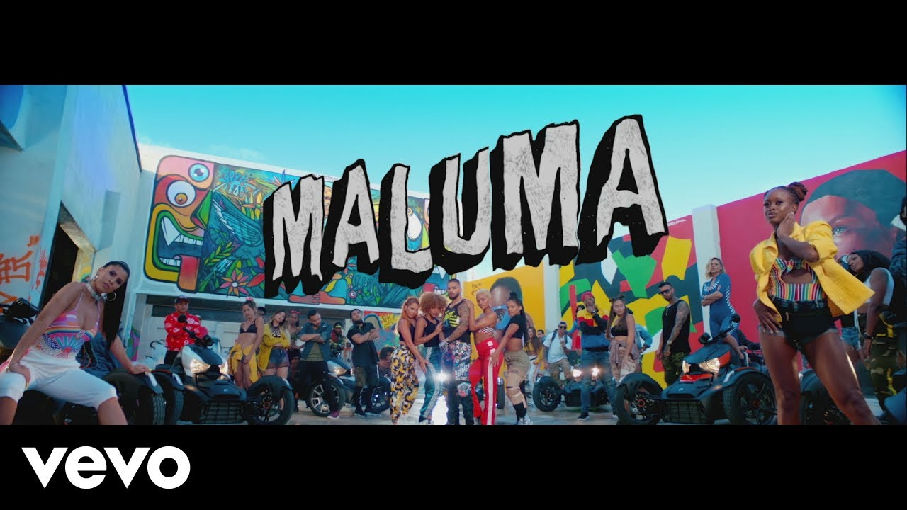 Maluma takes over Wynwood in colorful 'HP' music video