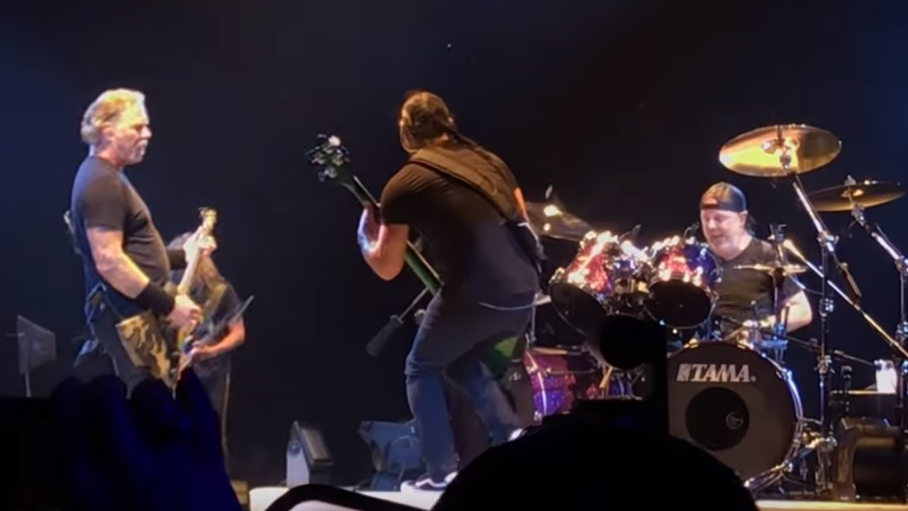 Watch: Metallica performs live debut of  'Here Comes Revenge' in Lubbock, Texas
