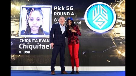 Chiquita Evans becomes first woman drafted in NBA 2K League