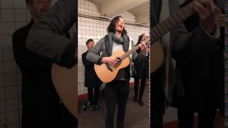 Watch: Hozier spotted busking on NYC Subway platform