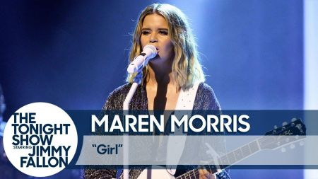 Watch: Maren Morris delivers fiery performance of 'Girl' on 'The Tonight Show'